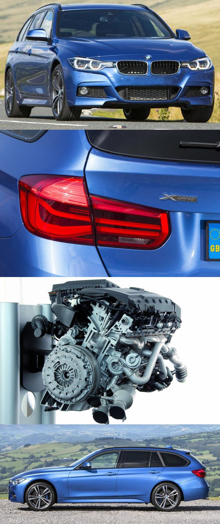 The all-new #BMW #335d #MSport #Touring  http://www.enginecompare.co.uk/