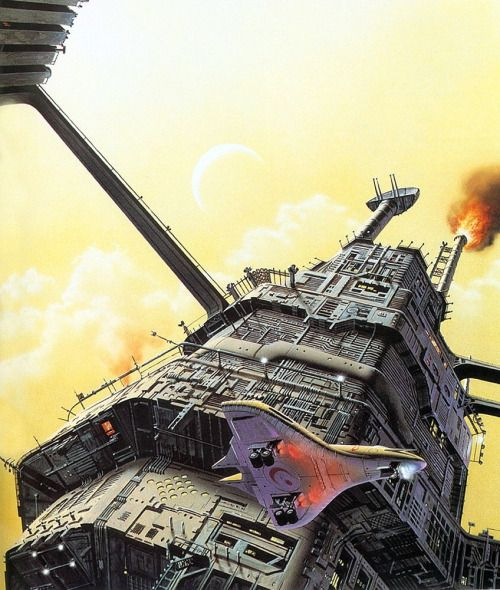 CHRIS MOORE - art for Second Variety by Philip K. Dick - 1996 Voyager / HarperCollins