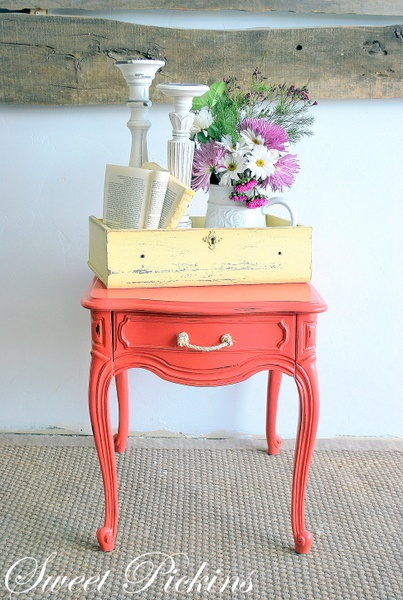 about coral painted furniture on pinterest coral furniture coral