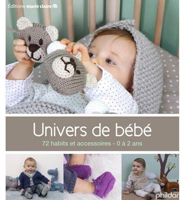 Livre modèles tricot univers bébé