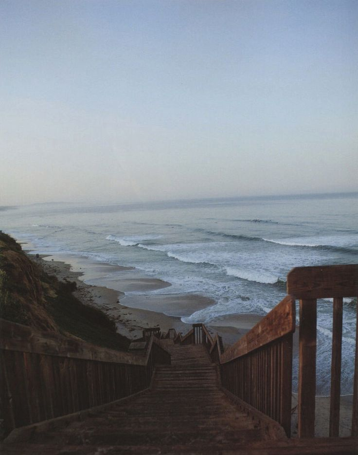 Beach House, Stairs, Favorite Places, The Ocean, At The Beach, Stairways, Heavens, Mornings Lights, The Sea