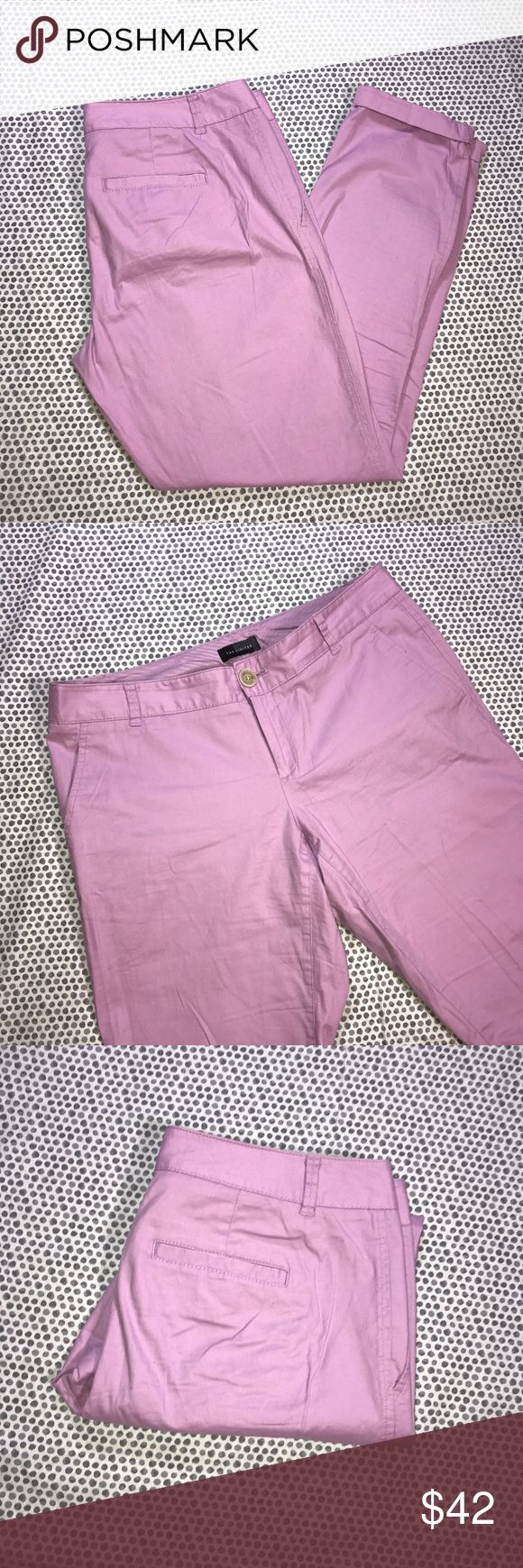 The Limited Light Purple Skinny Dress Pants * The Limited Light Purple Skinny Dress Pants * Size 4 * Made of 97% cotton & 3% spandex.  * Pre-owned, but in excellent used condition. No holes, stains or pilling.  * Measurements: Waist laying flat is 15 1/2 inches. Length is 36 1/2 inches. Inseam is 29 1/2 inches. Rise is 8 inches. The Limited Pants Skinny