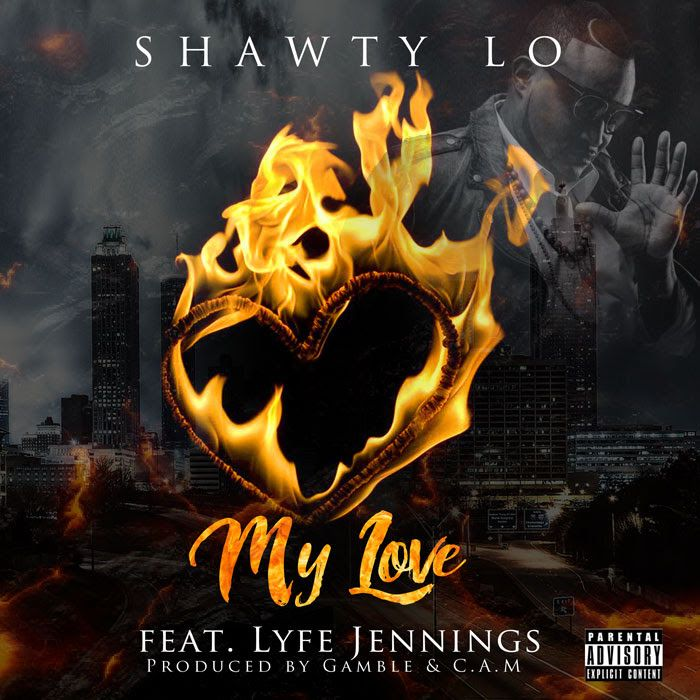 "Shawty Lo's posthumous album 'RICO' is set to be released on March 24th via 300 Entertainment on what would've been his 41st birthday. Here is the first single off of that project ""My Love"" featurin"