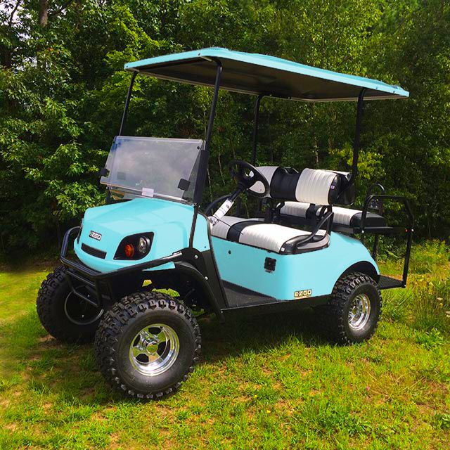 Tiffany Blue Golf Cart