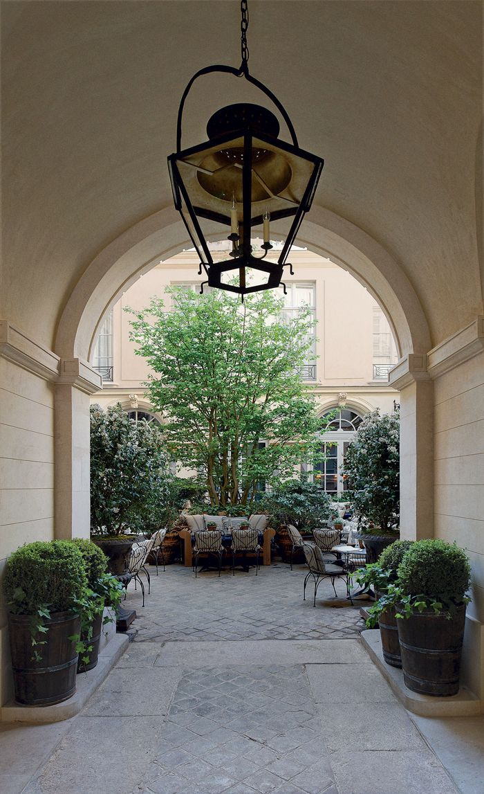Ralph Lauren / Saint Germain  / Parisian garden