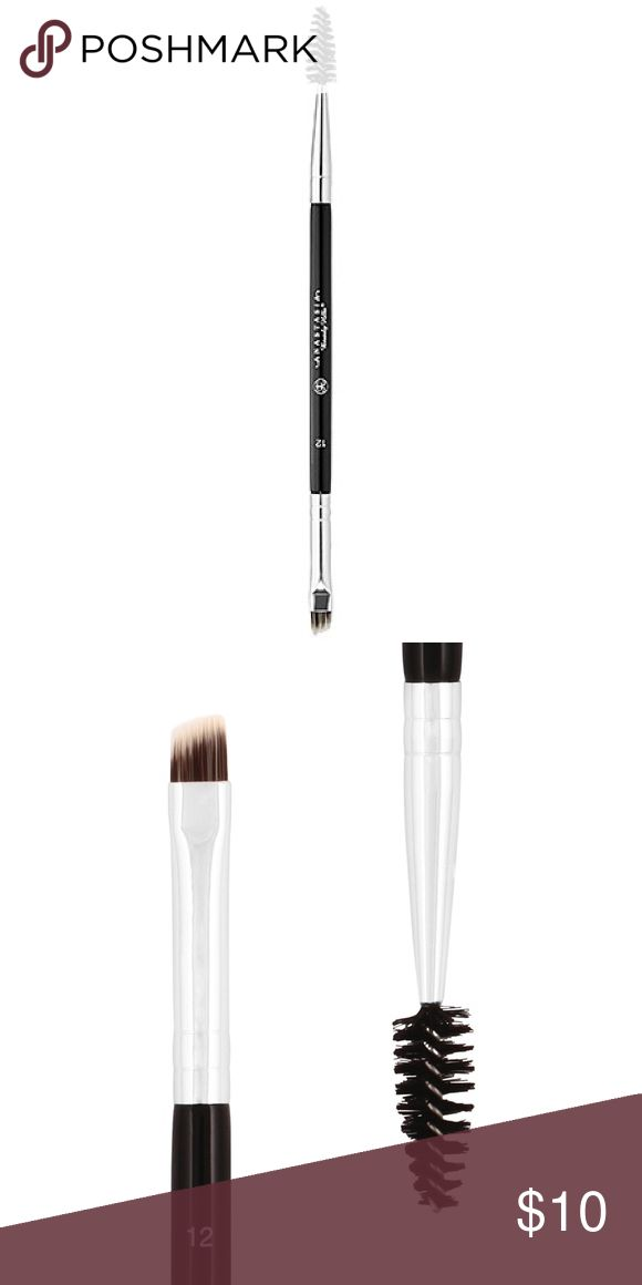 Anastasia Eyebrow Brush This brush is the essential tool for precision application of brow products. The angled cut brush on one end is perfect to fill-in arches with brow powder or for applying liner. The spooley end distributes and blends products evenly for a natural look.   Only used twice and has been cleaned. No offers, price is firm. All makeup is buy 3 get one free! Anastasia Beverly Hills Makeup Brushes & Tools