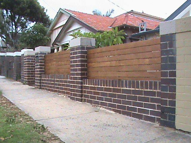 17 best images about garden fencing inspirated on Bricks sydney