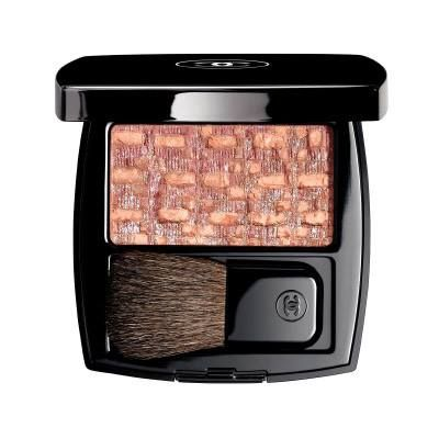 Chanel Tweed Blush for Spring 2015 #80 Rose – pink with silver light and a matte finish
