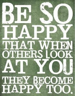 Be so happy. quote inspiration inspirational optimistic