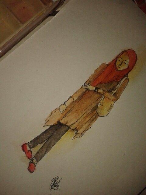 Tunik fashion water color #art