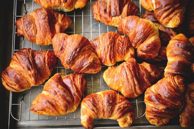 Tanti croissant, tante ricette di grandi maestri.