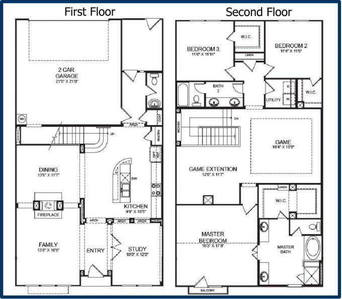 Home Inspiration Cool Two Story Barndominium Floor Plans