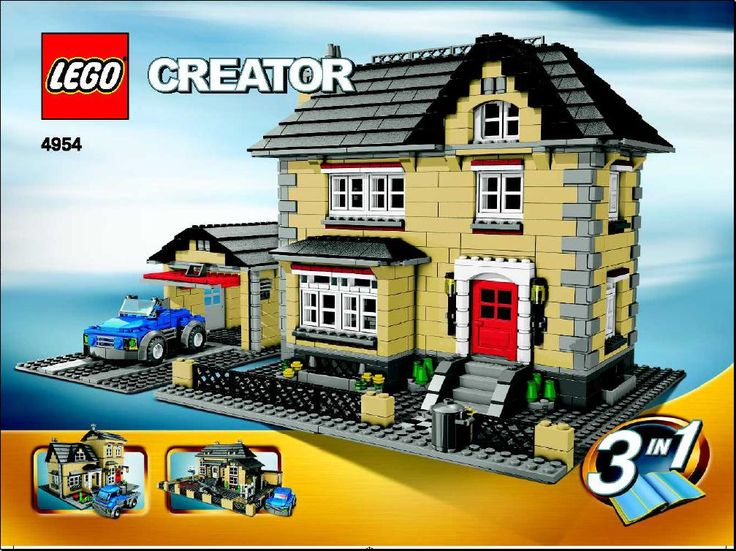 LEGO® Instructions 4954 Villa