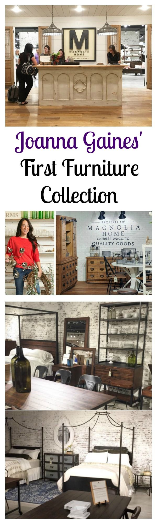 """Have you ever wished you could be on an episode of HGTV's """"Fixer Upper""""? Well, you will soon be able to welcome the same country chic design aesthetic the show is known for into your home thanks to the Gaines' latest project, Magnolia Home Furnishing by Joanna Gaines."""