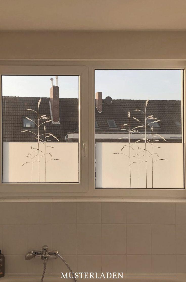 Dekorativer Sichtschutz Fur Fenster Mit Folien 2 Beispiele Fensterfolie Fenster Und Badezimmer Ohne Fenster