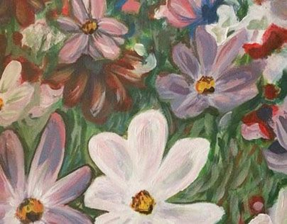 """Check out new work on my @Behance portfolio: """"countryside's flowers""""…"""