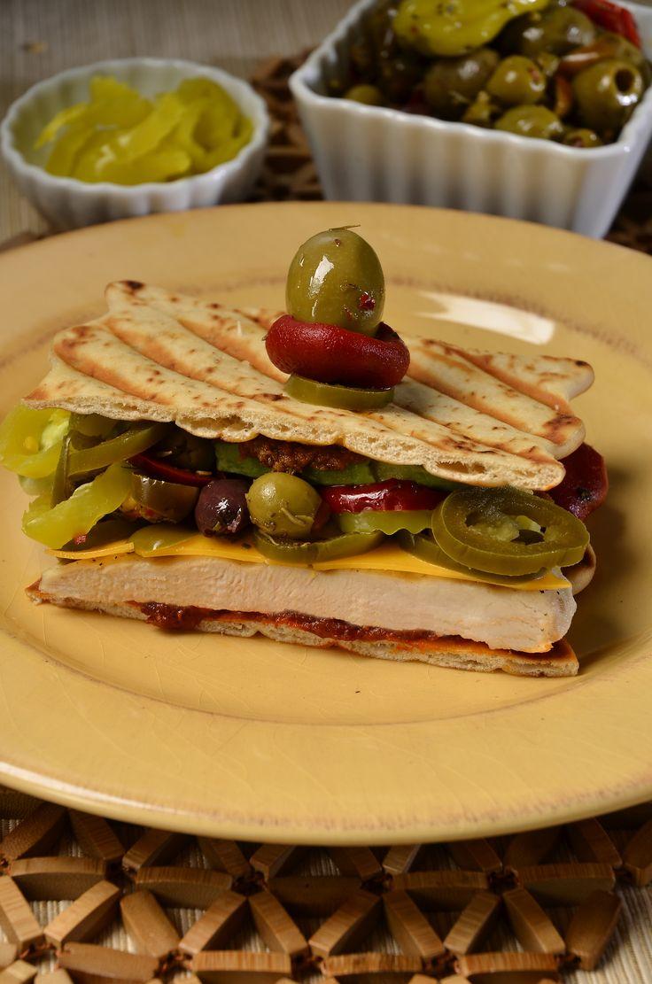 Mexican Grilled Chicken Sandwich - Castella Imports