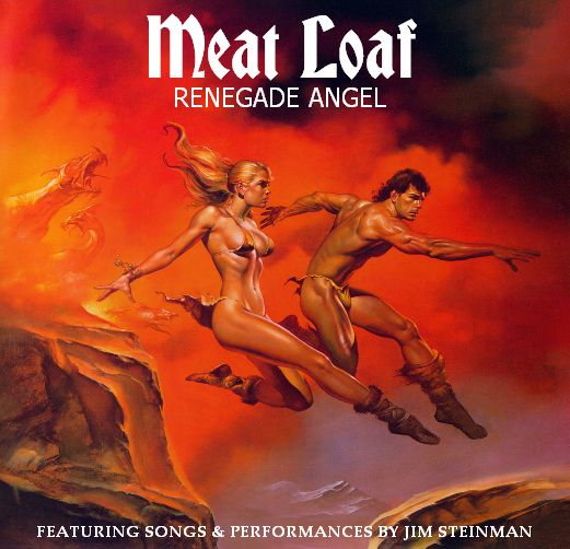 Book Cover Fantasy Record ~ Meat loaf renegade angel cover art by boris vallejo
