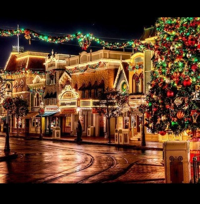 Christmas Decorations For Disneyland: 37 Best Disneyland At Christmas Images On Pinterest