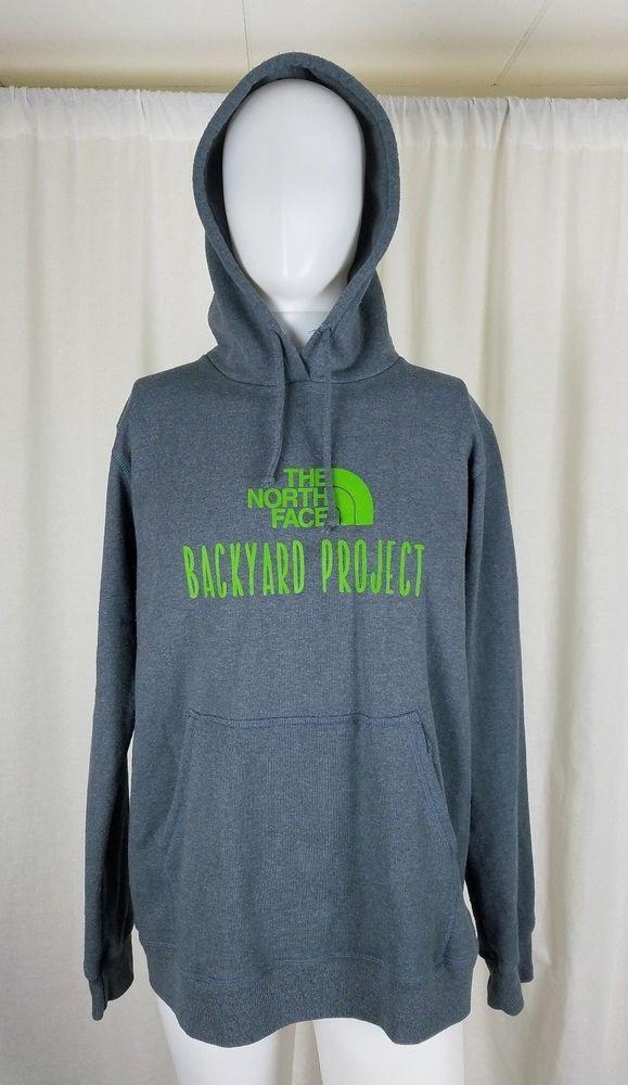 The Northface Backyard Project HomeGrown Hoodie Sweatshirt Sweater Jacket Mens L #TheNorthFace #Hoodie