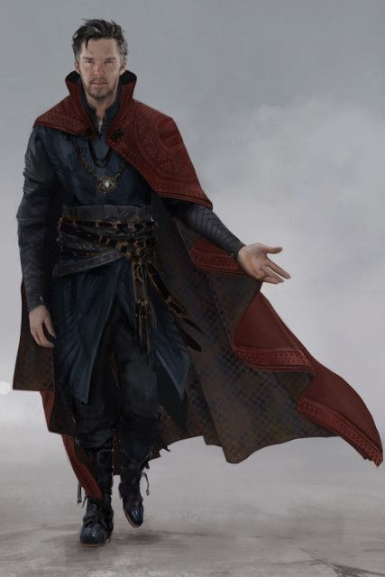 how to make dr strange cape