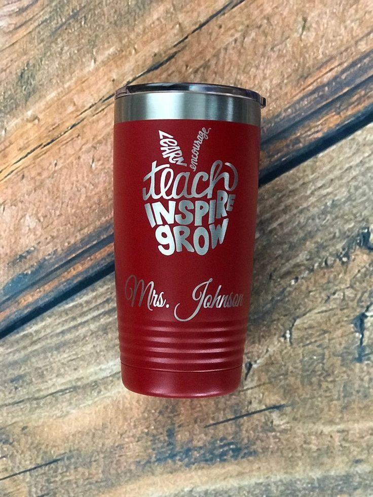 Sealed Grow Room Design: Personalized 20 Oz Custom Tumbler Coffee Tumbler Teacher