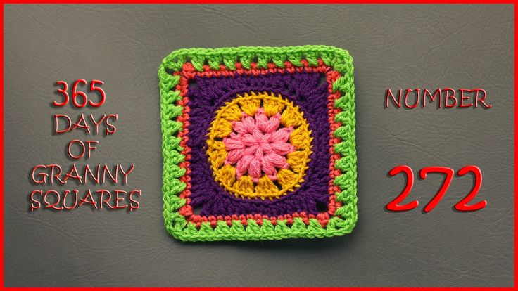 365 Days of Granny Squares Number 272