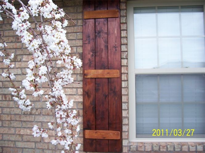 15 Best Images About Shutters On Pinterest Crafts Exterior Shutters And Cedar Tongue And Groove