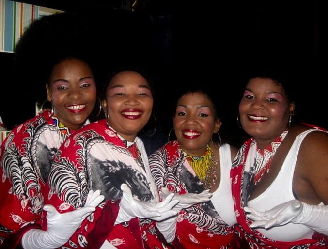 the moyo Babes at uShaka Pier
