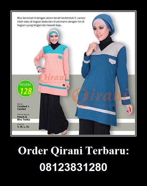 Baju Qirani atasan model 128,  Hubungi : Whatsapp : +62 812-3831-280 SMS : +62 812-3831-280 BBM : 5F03DE1D