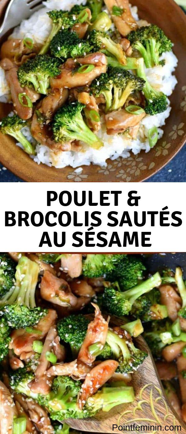 Einfaches Rezept für ein komplettes Abendessen / Mittagessen: Hühnchen & Brokkoli mit …