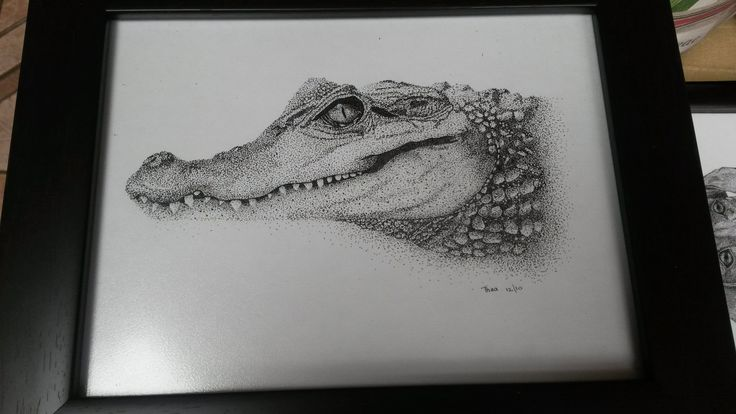 Art Pointillism by Thea Loots