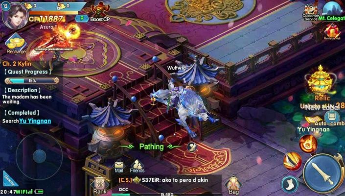 Swords of Immortals is a Free Android Role Playing Mobile