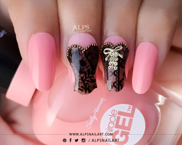 @Yourscosmetics Yours Loves Sascha Stamping plates Review and Corset Nails Tutorial @alpsnailart #yourscosmetics #yourslovessascha #corsetnails #nailarttutorial