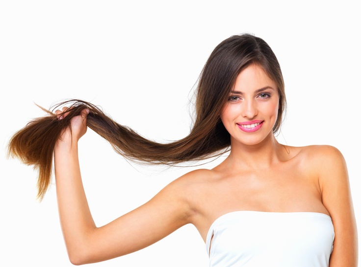 Got dry and brittle hair? Here's what you can do to help. #dry #hair #beauty