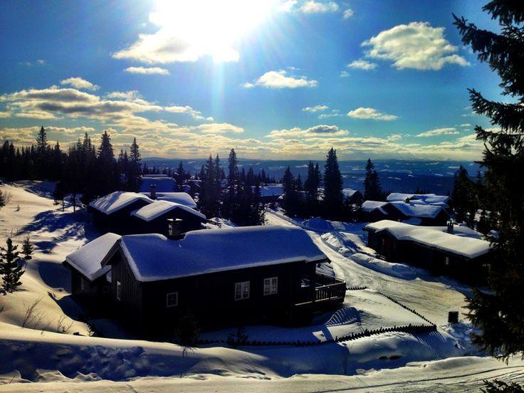 Hafjell Alpinsenter in Øyer, Oppland