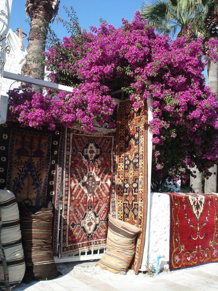 fotoblogturkey:  Bodrum, Turkey - Turkish carpet