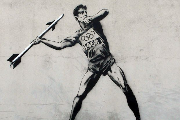 Banksy: New Olympic Related Works