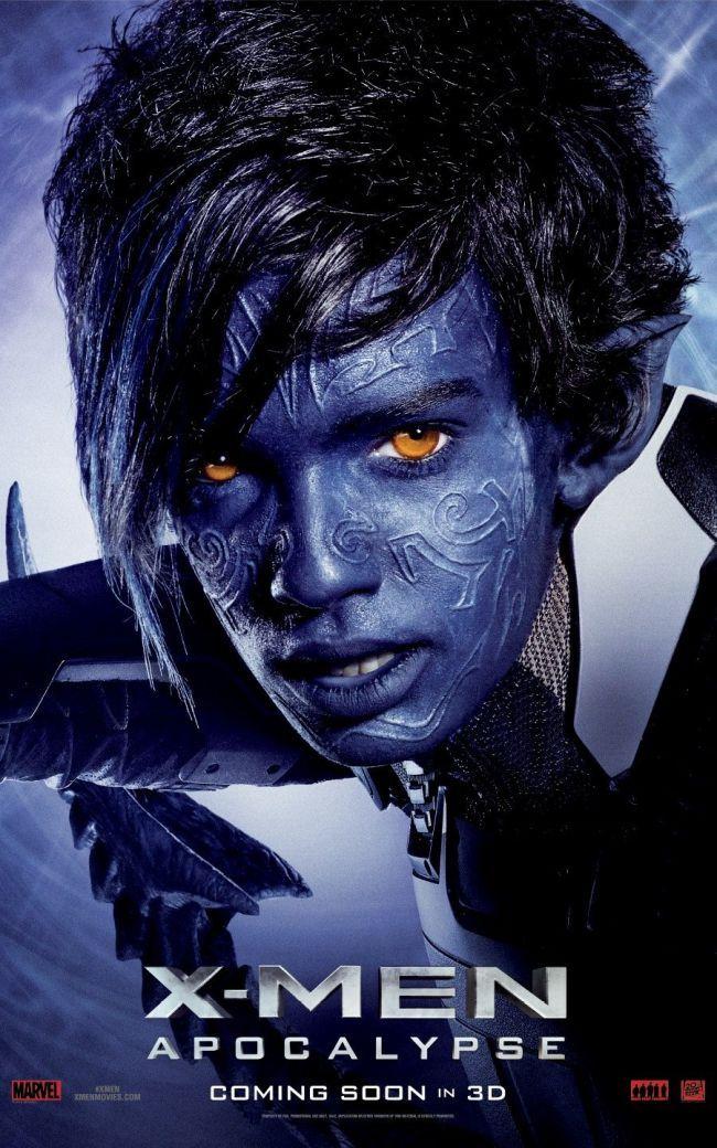 Kodi Smit-McPhee - Nightcrawler (X-Men Apocalypse)
