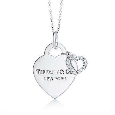 Just got it at discount price, Tiffany Pendants Tiffany Hearts Double Pendant