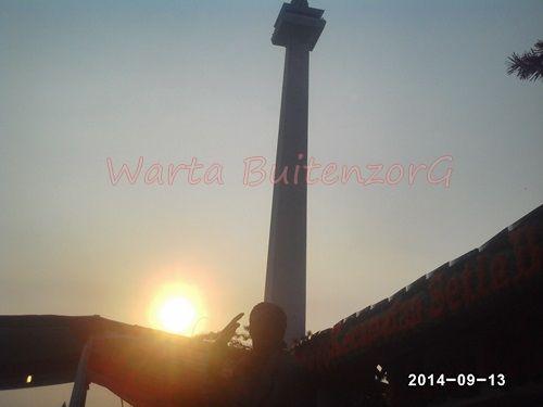 Sunset di Tugu Monas - 4
