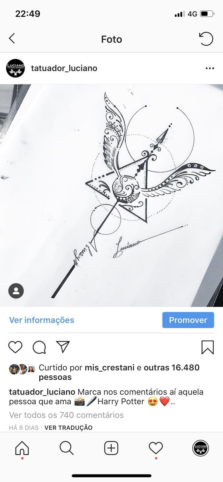 – – #tattooideen  Art Corporel