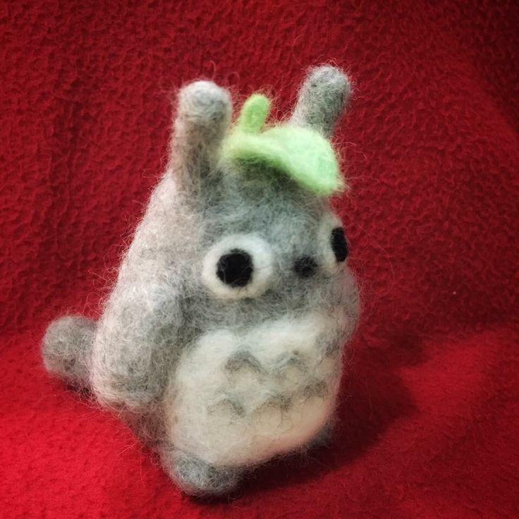 Needle Felted Totoro