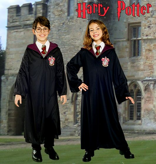 Harry Potter und Hermine Granger Kostüme. Schuluniformen für die Zaubererschule bei Kostümpalast