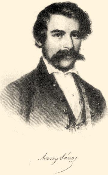 Arany János ifjúkori képe