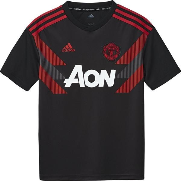 Adidas Kids Manchesterunited Prematch Jersey Mufc Manu Soccer Premierleague Manchester United Soccer Shop Mens Tops