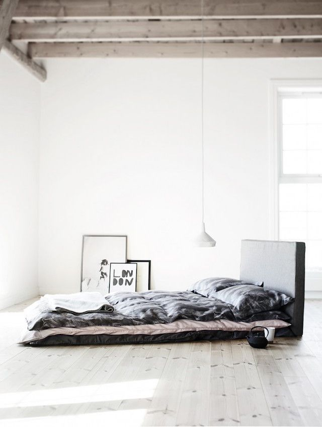 bedroom via The Design Chaser
