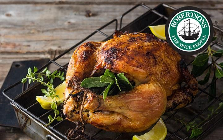 Whole Roasted Chicken over the coals