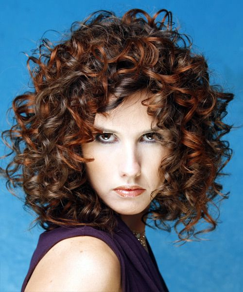 Medium Curly Hairstyles Glamorous 11 Best Hairstyles Images On Pinterest  Curls Hair Cut And Curly Hair