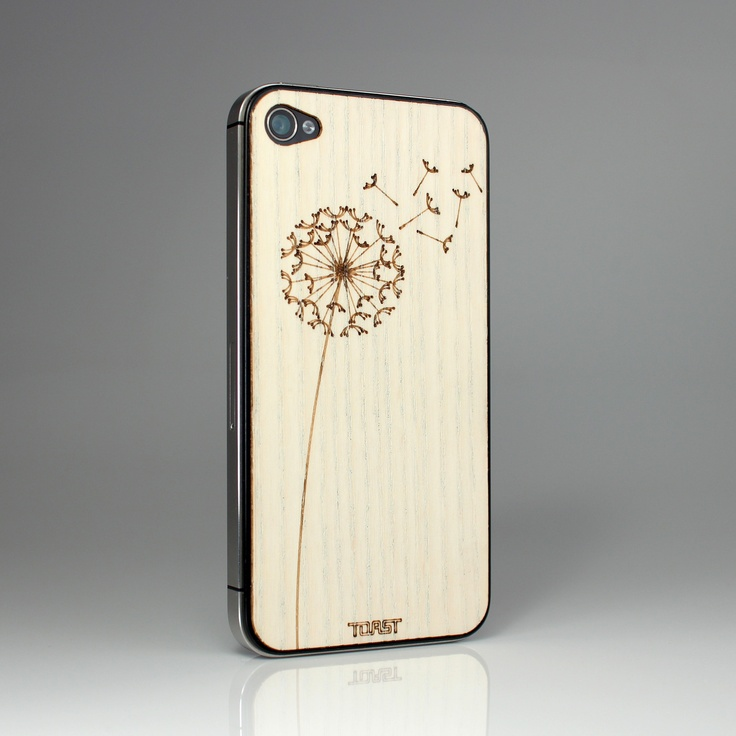 Toast - Dandelion White Ash Wooden iPhone case